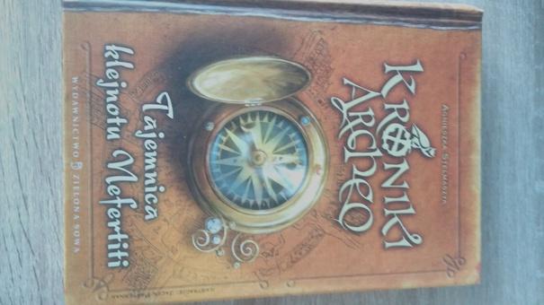 """Seria książek dla młodzieży """"Kroniki Archeo"""""""