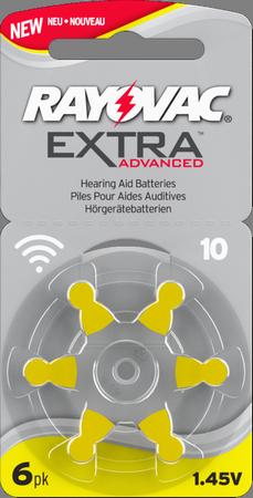 Baterie do aparatów słuchowych Rayovac Extra 10, 13, 312, 675