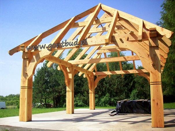 Altanka ogrodowa altana drewniana garaż domek stodoła wiata carport