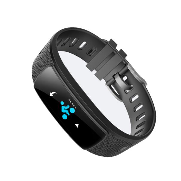 Opaska fitness, pulsometr, krokomierz Android, iOS