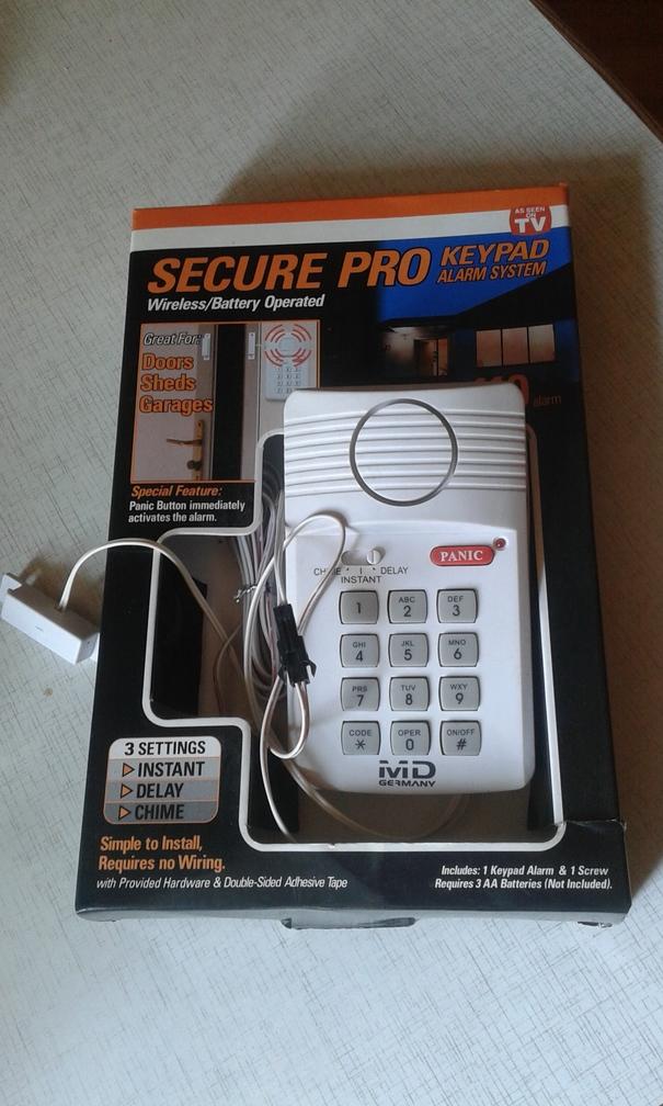 sprzedam alarm do drzwi mieszkania