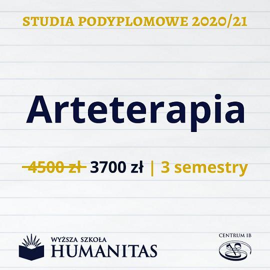 Arteterapia - studia podyplomowe