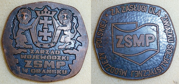 Za zasługi dla ZSMP-GDAŃSK