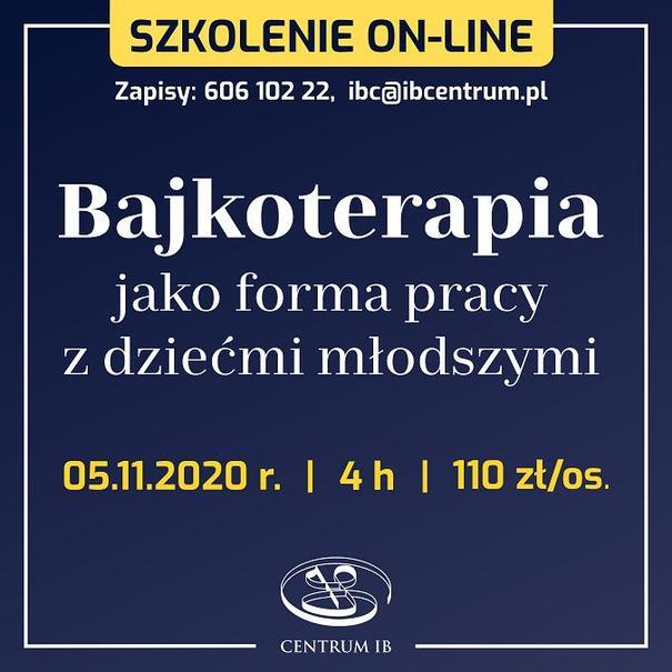 Bajkoterapia - szkolenie on-line