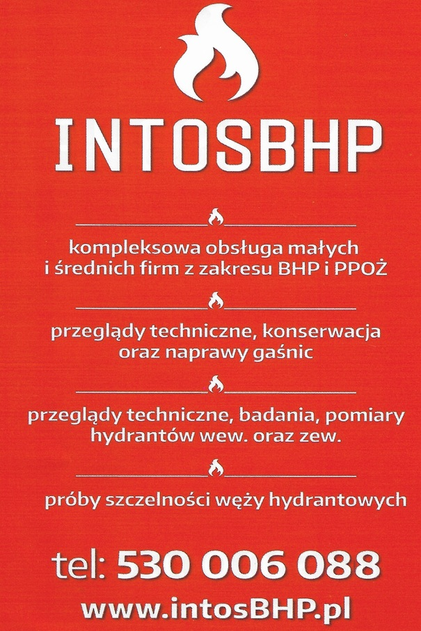 Usługi szkoleniowe, usługi BHP